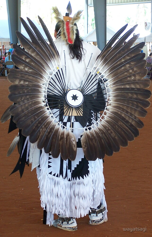 Cherokee Indian by wayatsagi
