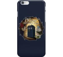 Over The Doctor's Tardis iPhone Case/Skin