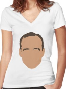 Phil Coulson Women's Fitted V-Neck T-Shirt