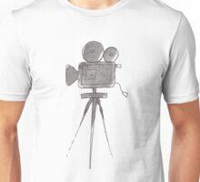 Cinema Camera Watercolor Unisex T-Shirt