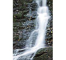 Waterfall cascade Photographic Print