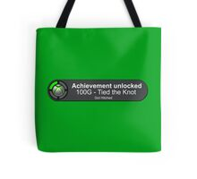 Achievement Unlocked - Got Hitched Tote Bag