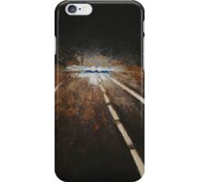Night Driving, Blinded iPhone Case/Skin