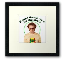 Hyde - The Circle Framed Print