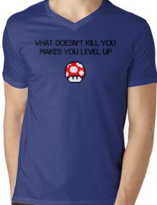 Makes You Stronger Mens V-Neck T-Shirt