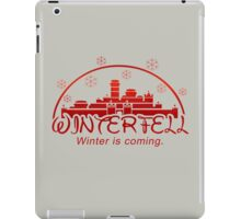 Winterfell Disney - Winter is Coming iPad Case/Skin