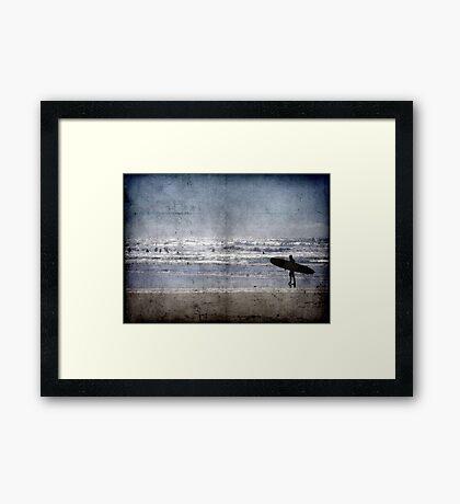 Vintage Summer Framed Print