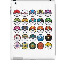 POKEBALLS iPad Case/Skin