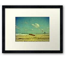 Surf Rescue Framed Print