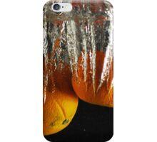 Orange Freeze  iPhone Case/Skin