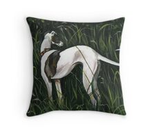The Scent of Summer Throw Pillow