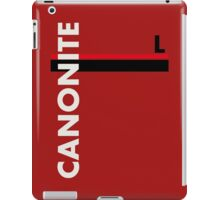 Canonite iPad Case/Skin