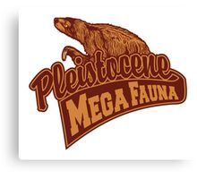 Mega Fauna Canvas Print