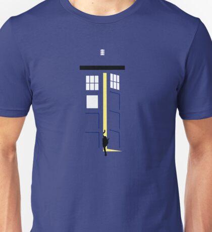 Schrödinger's Blue Box Unisex T-Shirt