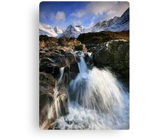 The Fairy Pools of Skye Canvas Print