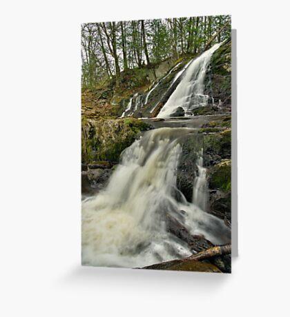 Dead Creek Falls - Vertical Greeting Card