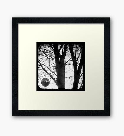 Lunar - TTV Framed Print