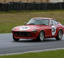 Datsun 240Z by Peter Lawrie