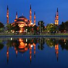 Blue Mosque by dberry