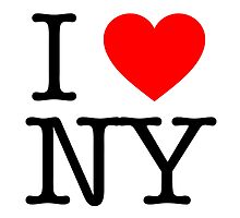 Some People Love NY by BrianEFisher