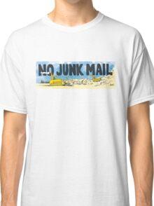 No Junk Mail Landfill  Classic T-Shirt