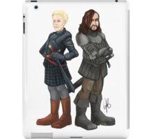 Brienne and The Hound iPad Case/Skin