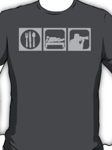 Eat, Sex, Shoot T-Shirt