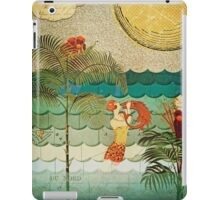 Collage of Coral Bubbles iPad Case/Skin