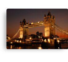 Tower Bridge Canvas Print