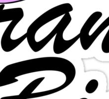 Minni Mouse Bow Grand Big (Gamma Phi Beta) Sticker