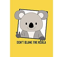 DON'T BLAME THE KOALA Photographic Print