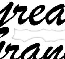 Minni Mouse Bow Great Grand Big (Gamma Phi Beta) Sticker