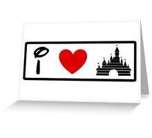 I Heart Sleeping Beauty (Classic Logo) Greeting Card