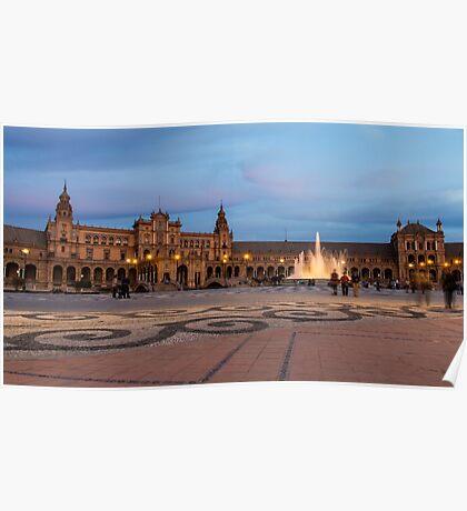 Plaza de España Poster