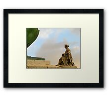 Beauty and the base... Framed Print