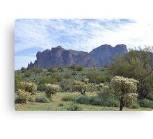 Superstition Mountain 1 Canvas Print