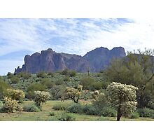 Superstition Mountain 1 Photographic Print