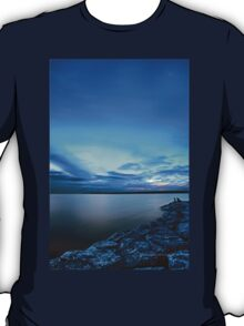 Late Picnic on an Indigo Night T-Shirt