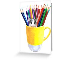 The Art Student Greeting Card