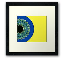 The Other Side of the Space I Can See Framed Print