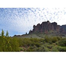 Superstition Mountain 2 Photographic Print