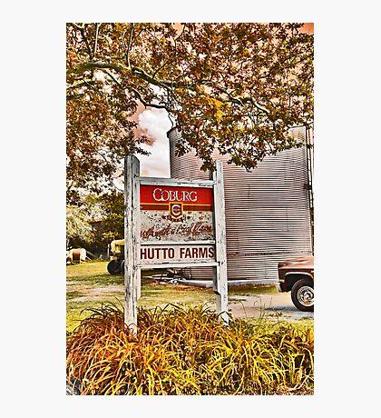 Hutto Farms Photographic Print