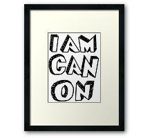 I Am Canon Framed Print