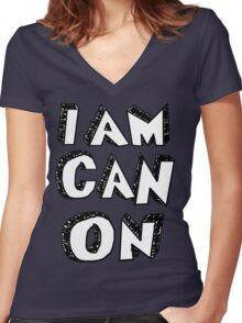 I Am Canon Women's Fitted V-Neck T-Shirt