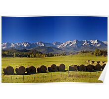 High Country Harvest Poster