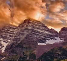 Maroon Bells Sunset Sticker
