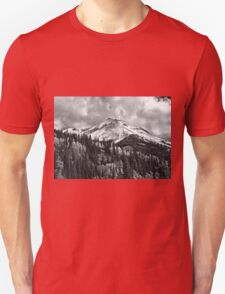 Red Mountain Snow Unisex T-Shirt