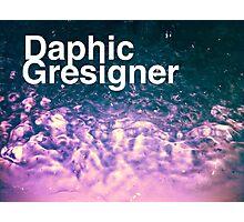 Daphic Gresigner or Graphic Designer? Photographic Print
