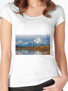 Oxbow Bend Women's Fitted Scoop T-Shirt