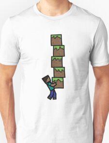 Steve's Grass Blocks T-Shirt